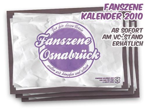 Fanszene Kalender 2010