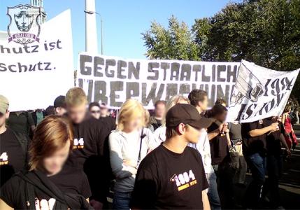 Demo gegen Überwachung, Berlin