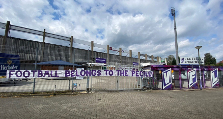 Football belongs to the people
